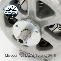 Missouri Freedom 48 Volt 1600 Watt Max 7 Blade Wind Turbine Generator