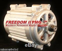 Missouri Freedom II 48 Volt 2000 Watt Max 11 Blade Wind Turbine Generator