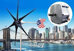 Patriot 1600 W Watt Max Wind Turbine Generator PMA 12 Volt DC Output 6 Blade