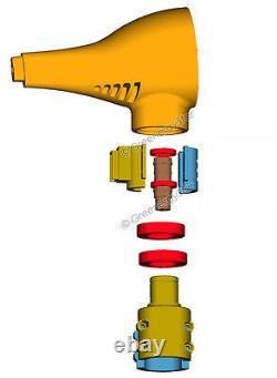 Patriot-GM Wind Turbine Generator Mounting + Slip Ring for Delco PMA Alternator