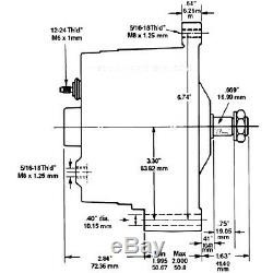 Permanent Magnet Alternator 12 Volt AC for Wind Turbine Generator PMA PMG