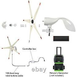 Power Pod Elite 1200 Watt Generators with 4 pcs Solar Panel & Wind Turbine