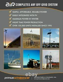 Primus Wind Power 1-AR40-10-48 AIR 40 Wind Turbine 48VDC