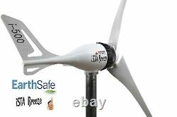 SET i-500W 24V Wind Generator + Charge Controller