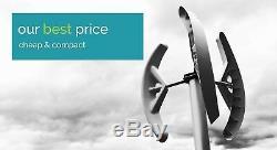 Small Mini micro domestic wind turbine power generator Vertical blades Savonius