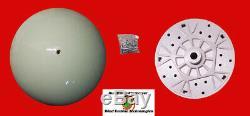Stealth Storm Wind Turbine Blade 28 Inch Wind Generator Blades, Hub & Nose Cone