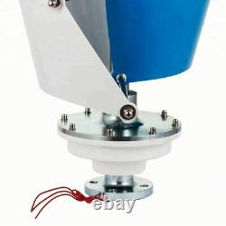 Vertical Wind Power Turbine Generator With MPPT Controller For Roof Top éolienne