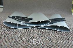 WIND TURBINE BLADE Airfoil -GOE222 Airfoils 3 X 1Mtr Blade & End Cap Kit
