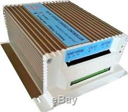 WINDGENERATOR, 12v, 24v + Laderegler Hybrid f. Solar, IstaBreeze WIND TURBINE