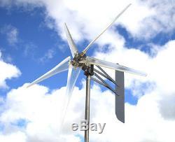Wind Mill Turbine 5 blade CLEAR prop 12 VOLT AC 3-WIRE 14 MAG 74 KT DTA