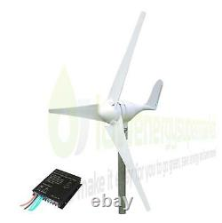 Wind Turbine 300W 12V Generator Kit Boat OffGrid Power Charge Controller UKStock