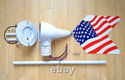 Wind Turbine Generator Body+Slip Ring+Tail for Patriot-GM & Wind Blue Power