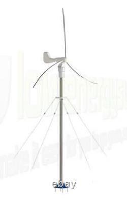 Wind Turbine Generator Mast Kit Pole Mounting Guy Lines Off Grid Power UK Stock