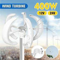 Wind turbine 400W 12/24V generator charger electricity Mobil home. Free energy
