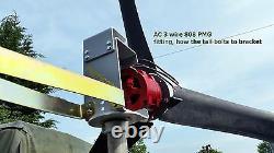 Wind turbine 48v 1500 watt, with free 245 watt solar panel, great price