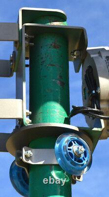 Wind turbine generator 5 Blade 1850W MAXCORE PMA 48 VDC 2-wire 7.4 kWh per day