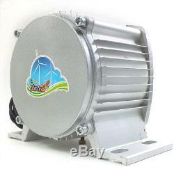 WindZilla PMA 12 V AC Max 3200 W 12 Blade Wind Turbine Generator + 2 Bearings