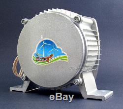 WindZilla PMA 24 V AC 6 Blade 1.8K Wind Turbine Generator+Controller+ Dumpload