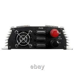 1000w Mppt Dc22-45v À Ac110v Pure Sine Wave Onduleur Pour Générateur D'éoliennes
