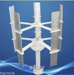 10w Max 15w 12v C Haute Efficacité Petite Éolienne Domestique Générateur, 5 Lames
