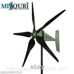 12 Volt 2000 Watt Missouri Raptor G5 79 Pouces Dia 5 Blade Freedom Wind Turbine
