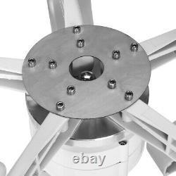 1600w Dc12 / 24v 5 Blades Lanterne Éolienne Générateur À Axe Vertical Moulin À Vent