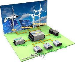 1800 W Windzilla Pma 12v Ac 6 Lame Éolienne Générateur + Contrôleur + Dump Charge