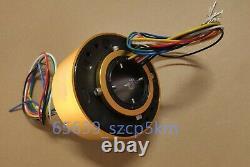 1pcs Slip Ring À Travers Le Trou Dia. 50mm 6 Circuit/10a Pour Générateur D'énergie Éolienne