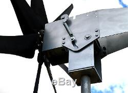 2000 Watt Typhoon 48vac Basculement Unibody 2.5 Turbine Aérogénérateur 7kt