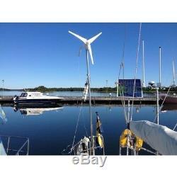 2017 Nouvelle 12v / 24v 3 Blades 400w Wind Turbine Générateur + Contrôleur 12v / 24v