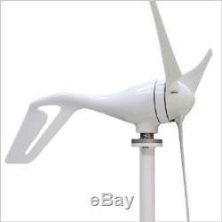 2017 Nouvelle 12v / 24v Ac 3 Blades 400w Wind Turbine Générateur Livraison Gratuite