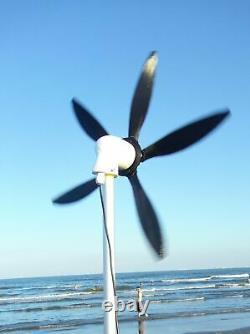 2021 Mini Wind Turbine Generator Windmill, Small & Portable, Pour Beach, Camping