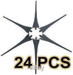 24 X 62 Turbine Générateur De Vent Lames Pour Moteur Ametek Apollo Air-x 403