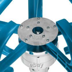 24v Windkraftanlage Windrad Windturbine Windgenerator 4000w Blau De Garten Außen