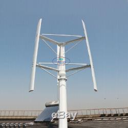 3000w Éolienne À Axe Vertical Générateur 250 RPM 96v À 380v Grille De La Grille 3 Pales