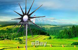 3200 W Windzilla Pma 12v Ac 12 Lame Éolienne Générateur + 225a Bague + Hub