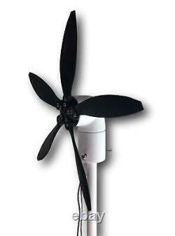 33w 12v Et Usb Cyclone Pivotant Turbine Éolienne Moulin À Vent, Petit Et Portable