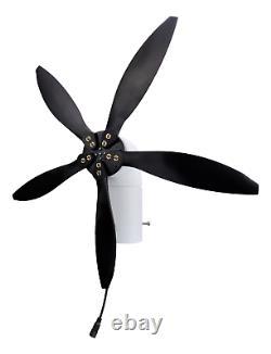 33w 12v Et Usb Cyclone Swivel Turbine Éolienne Moulin À Vent, Petit Et Portab