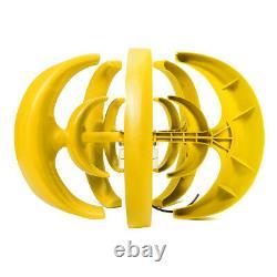 4000w 12v/24v Auto Wind Turbine Generator Lanterns Vertical Axis 5 Lames