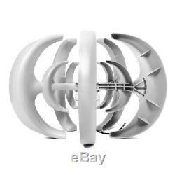 4000w Dc24v 5 Blade Wind Turbine Générateur À Axe Vertical Énergie Propre Énergie Accueil