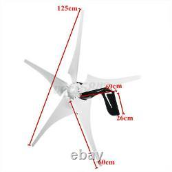 4000w Max Power Wind Turbines Générateur 5blade + Dc12 / 24v Charge Pour La Maison Bateau