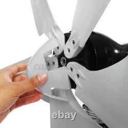 4000w Max Power Wind Turbines Générateur 5blade + Dc12 / 24v Frais Pour Bateaux Accueil