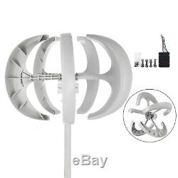 400w 24v Blanc Lanterns Éolienne Générateur D'énergie Propre Puissance Highpower Accueil