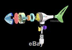 400w 550w 650w 800w 1000w Éolienne Générateur 12-24 3-6 Blades + Controller