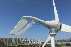 400w Générateur De Vent 12v Éolienne 3 Pales Pour Boat House Garden Street Lumière