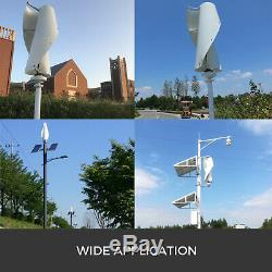 400w Helix Lévitation Magnétique À Axe Vertical Éolienne Générateur Mppt 12v