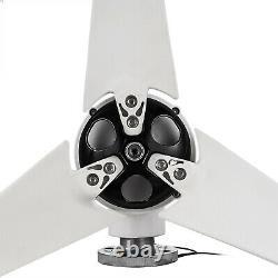 400w Max Power 3 Lames DC 12v Générateur De Turbine À Vent Avec Contrôleur De Charge