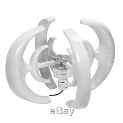 4200w 12 / 24v 4 Pales De Rotor Lanterne Turbines Aérogénérateur Unité Verticale