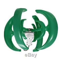 4200w 12v / 24v 4 Pales Éolienne Générateur D'énergie Électrique À Axe Vertical