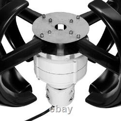 4200w 4 Lames Lanterne Automatique Générateur De Turbine Éolienne Axis Vertical /